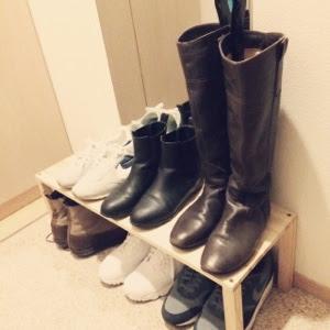 【ワードローブ】冬の靴はこの3足。