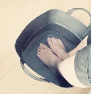 【冷え性と生理痛対策に】足湯のすすめ。