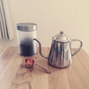 【愛用品】朝の仕事を楽しくしてくれたモノ。美味しくコーヒーを淹れる。