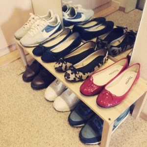 【ワードローブ】春の靴はこの5足、定番バレエシューズが好きすぎる。