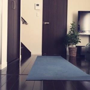 引越後の部屋の片付け、最初に作った私のくつろぎスペース【リビング】