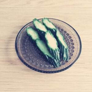 【簡単レシピ】きゅうりのお漬物で夏バテ対策。