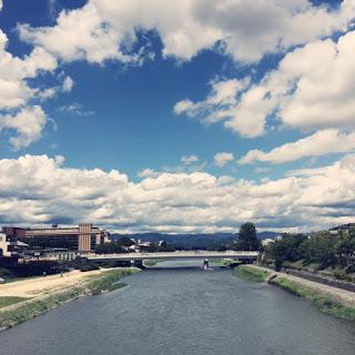 京都 風景 鴨川