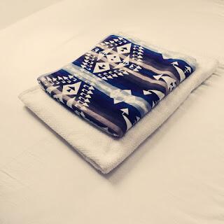 1年中使える綿毛布を愛用しています。