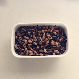 お豆な季節がやってきた、常備菜「ひじき豆」を作る。