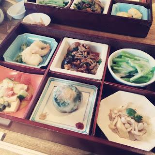 【京都・町屋ランチ】「菜根譚」の中華弁当が美味しい。
