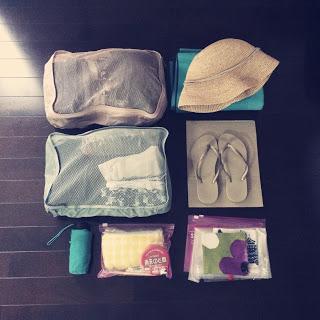 【ハワイ旅行準備編】5泊6日のスーツケース&機内持ち込み鞄の中身。