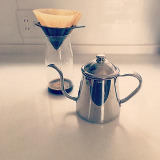 雨の日のコーヒー