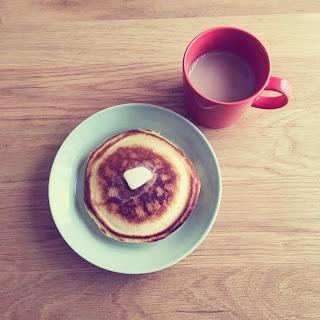 卵と牛乳なしでも美味しくホットケーキが作れた話。