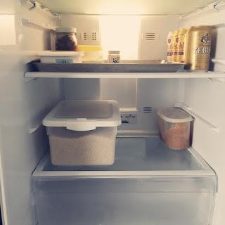【買わない暮らし更新】久々に空っぽの冷蔵庫になって思うこと。