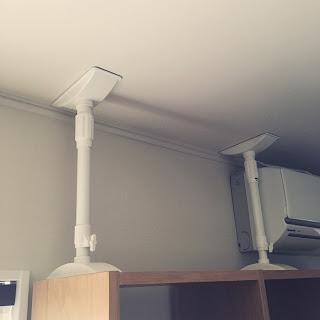 【防災】物を減らしてスペースを作る、家具を固定する。