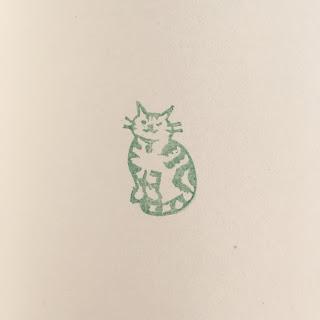 猫 消しゴムハンコ