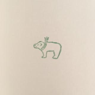 シロクマ 消しゴムハンコ