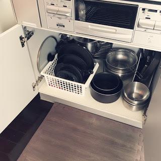 全部出して掃除できる分だけを持つ・スペースを作る。