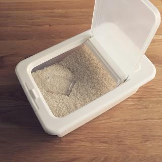 我が家の米びつとお米の保存方法。