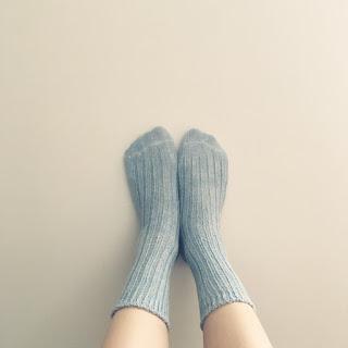 シルクリネン 靴下