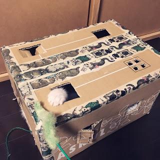 猫 手作り おもちゃ