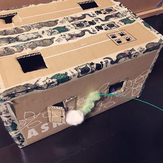 手作りおもちゃ 猫