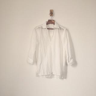 【骨格診断ナチュラル】自分に似合う襟つき白シャツを探す。