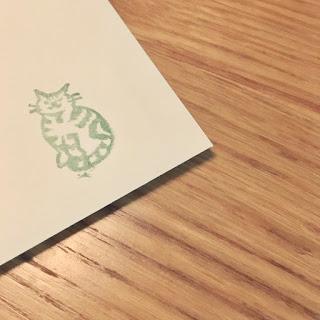 お手紙、ポストに投函しました。