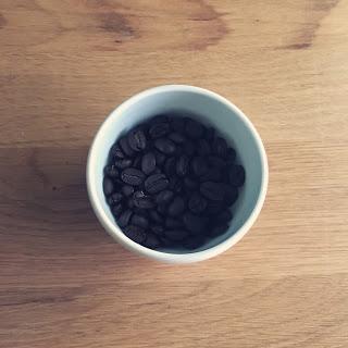 コーヒーに現れた富の神さま。