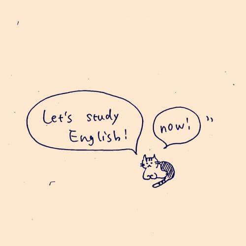 英語と今のいい関係。