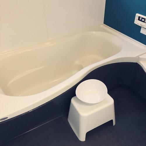 風呂釜洗浄 酸素系漂白剤