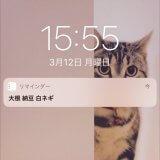 待ち受け画面にメモするアプリ、リマインダーが結局シンプル。