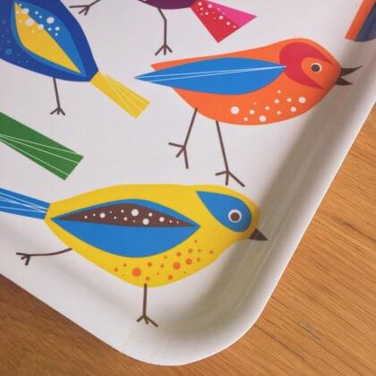 IKEA トレー おぼん 鳥
