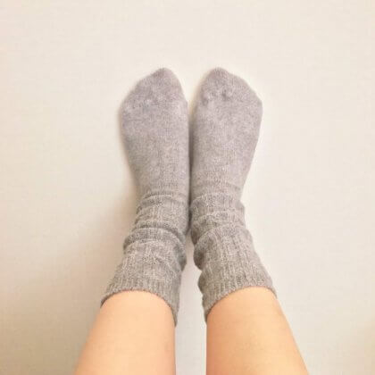 リネン 靴下