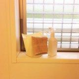 窓拭き 雑巾掛け