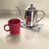 コーヒーを淹れるという癒し。