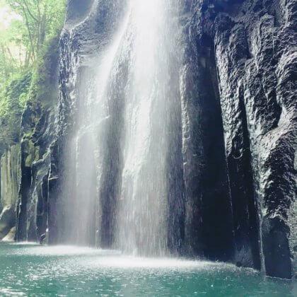 滝 冷水シャワー