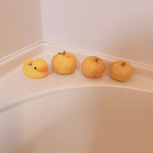 お風呂ゆず